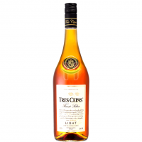 Tres Cepas Light Brandy 1L