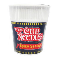 Nissin Cup Noodles Spicy Seafood Flavor 60g