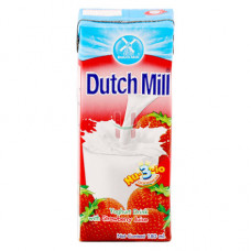 Dutch Mill Strawberry Yoghurt Drink With Amino Acid 180ml