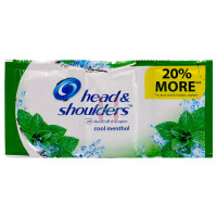 Head & Shoulders Cool Menthol Shampoo 6pcsX12mL